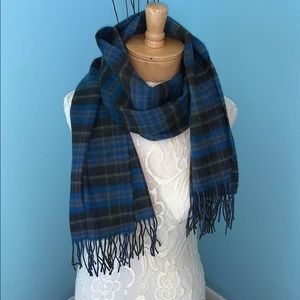 Vintage Hogg of Hawick Cashmere Wool Blend Scarf